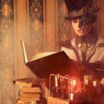 Steampunk Book Machine Misterious Escape Room Essen